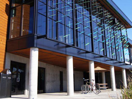 Pavillon d'accueil du Parc de la Cité