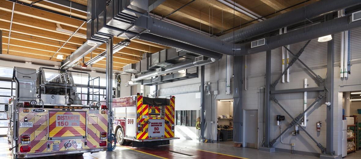 Caserne de pompiers | Ville de Mont St-Hilaire