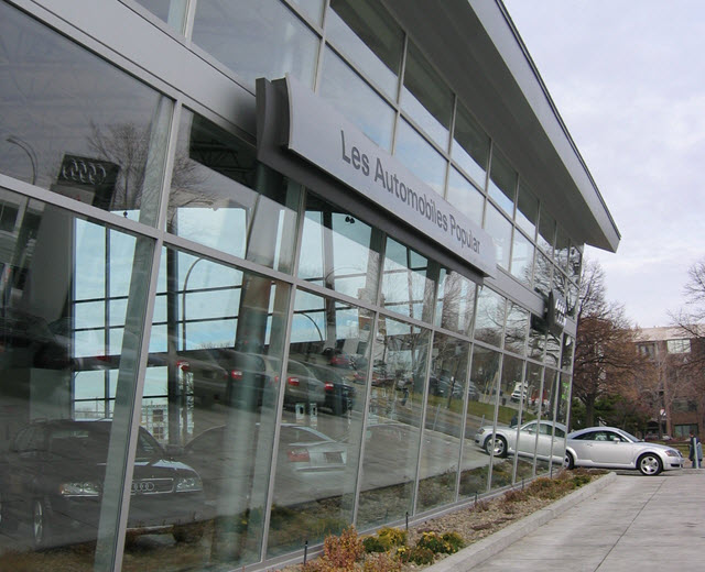 Audi Concessionnaire automobile