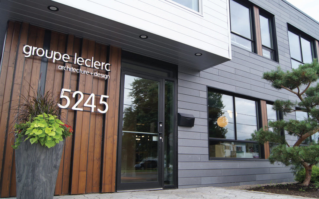 Groupe Leclerc architecture+design